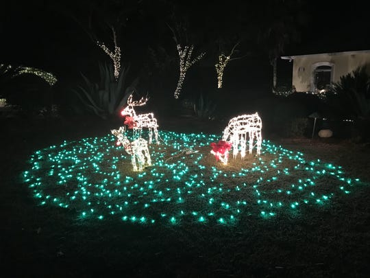 Tour of Lights: 353 Meadow Ridge Dr; Ox Bottom Manor, Tallahassee
