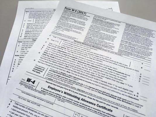Tax Overhaul Bigger Paychecks