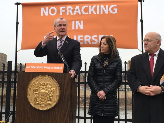 Gov. Phil Murphy is against fracking in the Delaware River basin, but signed a bill this year that allows fracking waste to be treated at a South Jersey facility and discharged into the Delaware River.