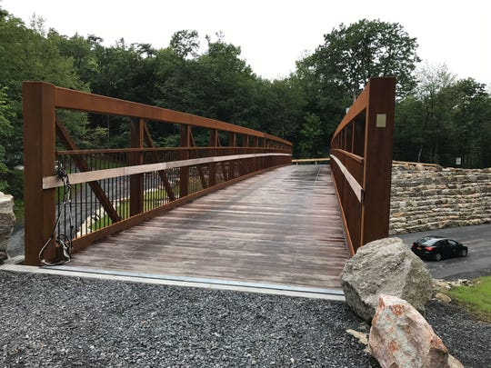Trapps Bridge at the Mohonk Preserve.
