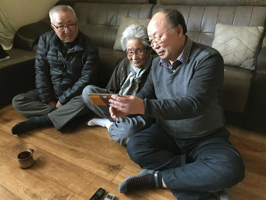 Pyeongchang Olympics Koreas-Olympics-Separated Families