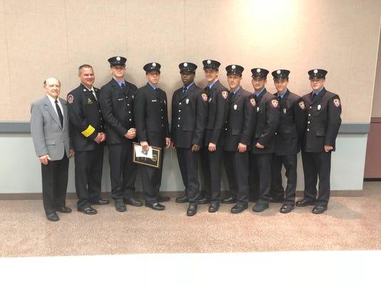 Firefighter Graduation 2-20-18