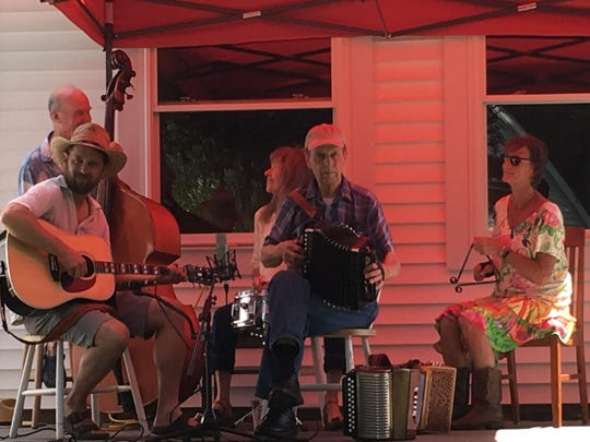 Toivo will return to Trumansburg Porchfest on Saturday.