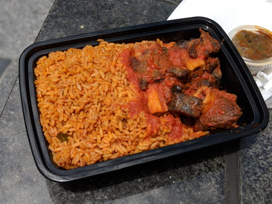 Jollof rice is a one-pot dish popular in many West African countries.
