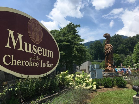 Cherokee Museum Large Sign
