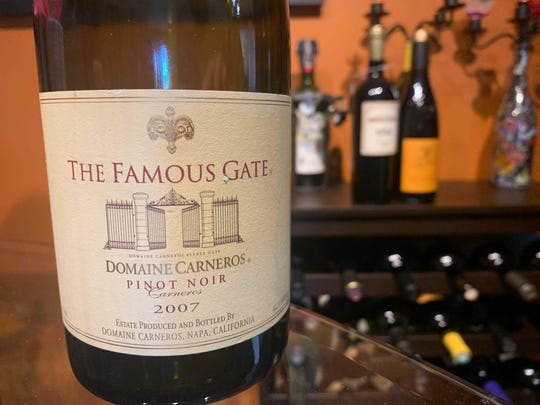The Famous Gate 2007 Pinot Noir from Domaine Carneros