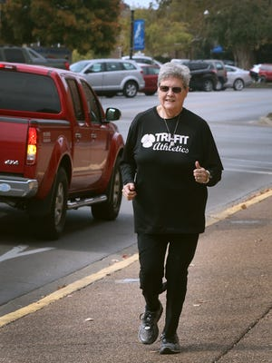 Linda Feagans, who has lost over 100 pounds and once had to run with an oxygen tank, will be running again in this year's Boro Dash. Feagans has competed in the race since it started.
