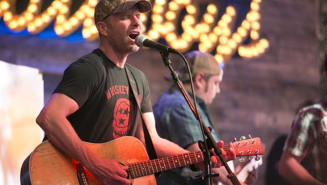 Country musician Dierks Bentley performs at Dierks Bentley's Whiskey Row in Gilbert on Friday evening, April 7, 2017.