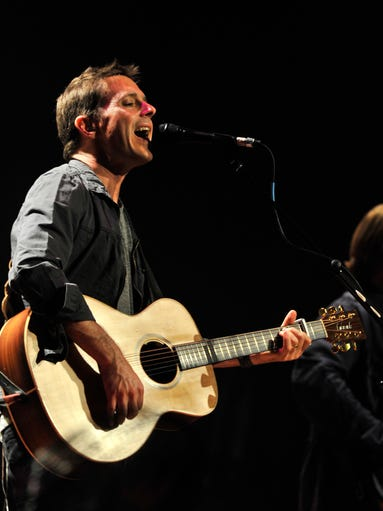 Lead singer Glen Phillips and Toad the Wet Sprocket perform at the Ryman Auditorium on Tuesday, June 17, 2014, in Nashville.