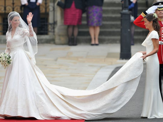 Duchess Kate, with her sister, Pippa Middleton, wore
