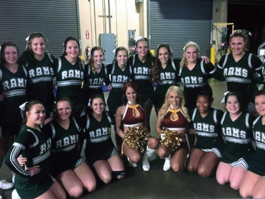 madison high school cheerleaders