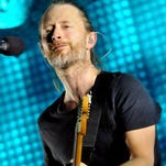 Thom Yorke of Radiohead performs  at 02 Arena in 2012 in London.