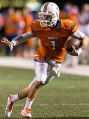 Central High School quarterback Mickey Scott's unplanned