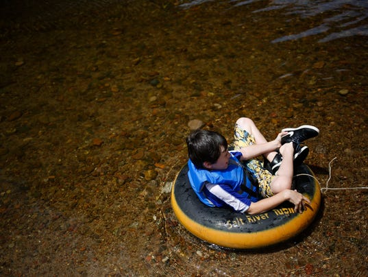 Salt River opens for tubing
