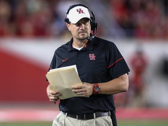 Tom Herman is the new coach at Texas.