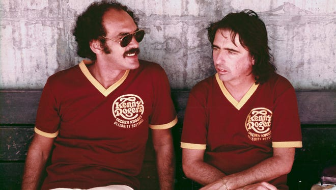 Shep Gordon (left) with Alice Cooper in an archival photo from the documentary 'Supermensch: The Legend of Shep Gordon.'