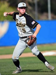 Newbury Park High's Jake Miller was named the MVP of the Marmonte League.