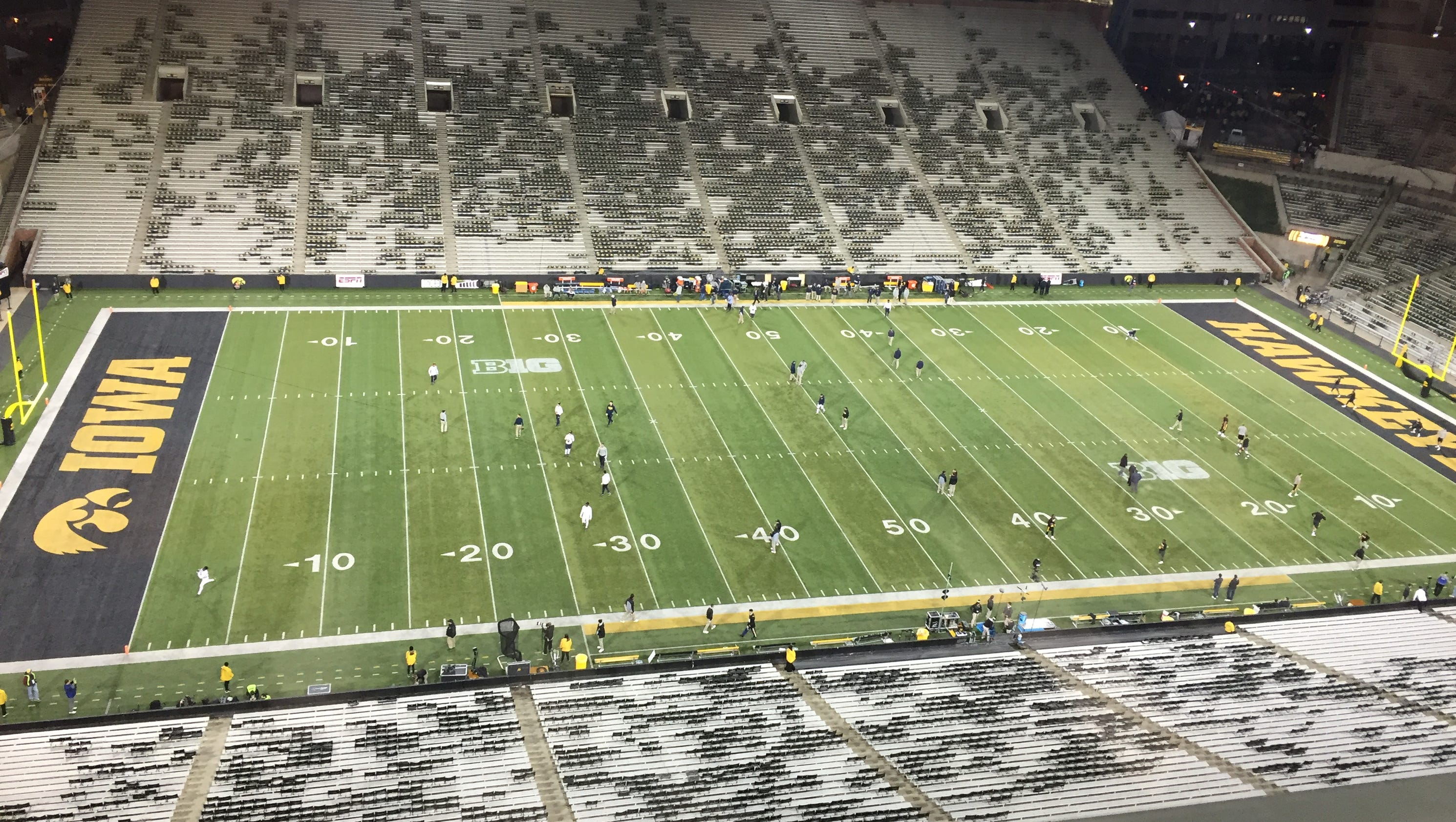 Michigan Stadium Visitors Locker Room