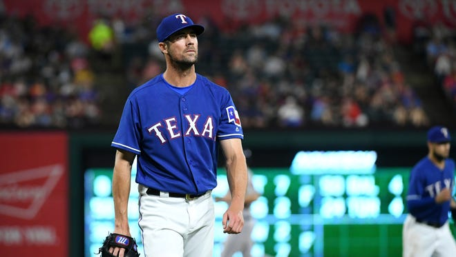 Less than a week before the non-waiver trade deadline, Cole Hamels is in what he calls the worst stretch of his career.