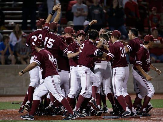 NCAA Indiana Stanford Baseball (2)