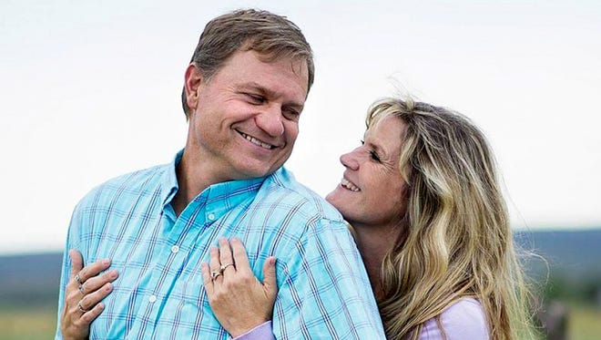 Hermosa Middle School Principal Mark Harris and his wife, Ashlie Harris, are pictured in this courtesy photo. Harris was badly injured in a car crash on June 29 in Colorado.