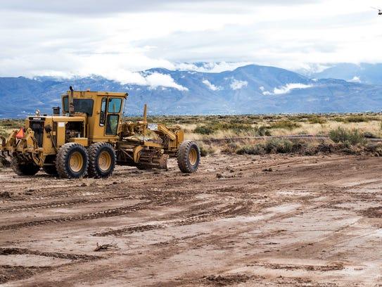 Site work has begun for the $13 million solar plant