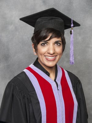 Shaheda Govani was inducted into the American College of Dentists during a meeting in October. Just 3.5 percent of dentists nationwide achieve this honor.