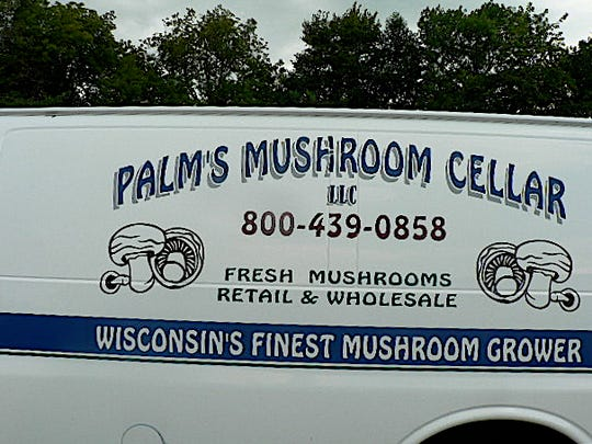 Mushrooms are delivered to customers in southern Wisconsin.