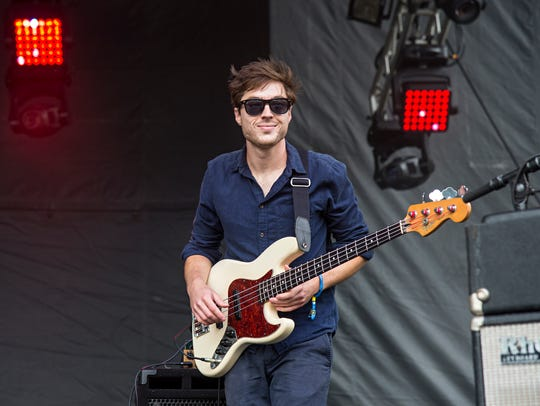Joe Dart of Vulfpeck seen at 2016 Outside Lands Music