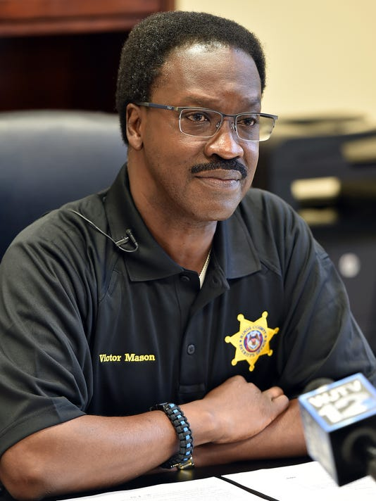 Hinds County Sheriff Victor Mason