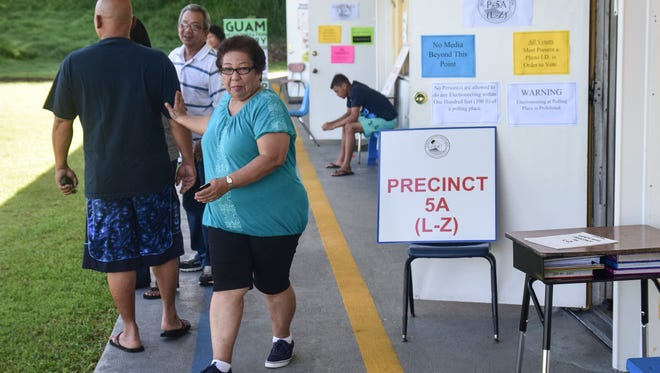 Candidates and supporters turned out to polling locations across the island during the 2016 Guam Primary Elections on Aug. 27.