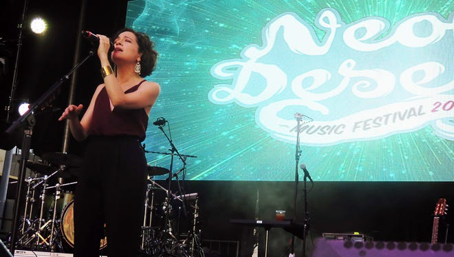 Grammy Award-winning Mexican singer-songwriter Natalia Lafourcade will return to El Paso on Oct. 5. Lafourcade was among the performers during the 2016 Neon Desert Music Festival.