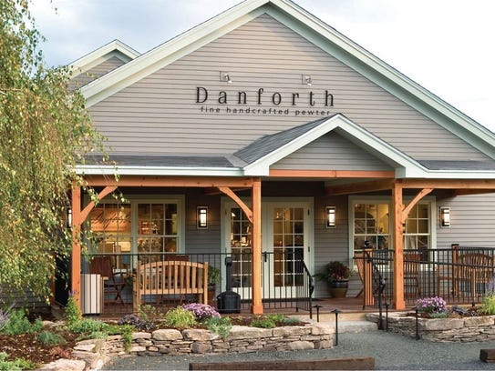 The Danforth store and workshop in Middlebury.