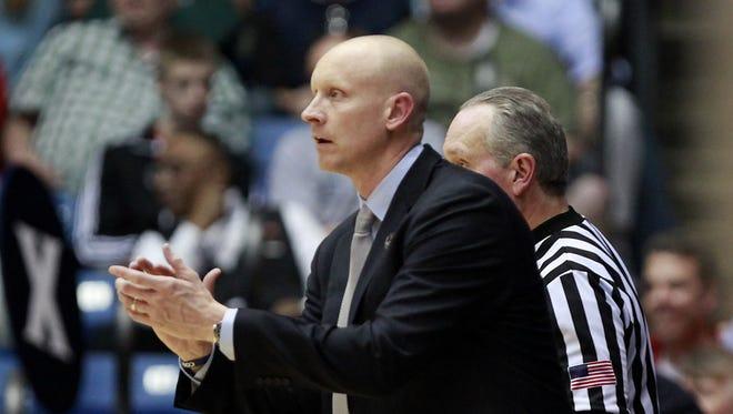 Xavier University coach Chris Mack.