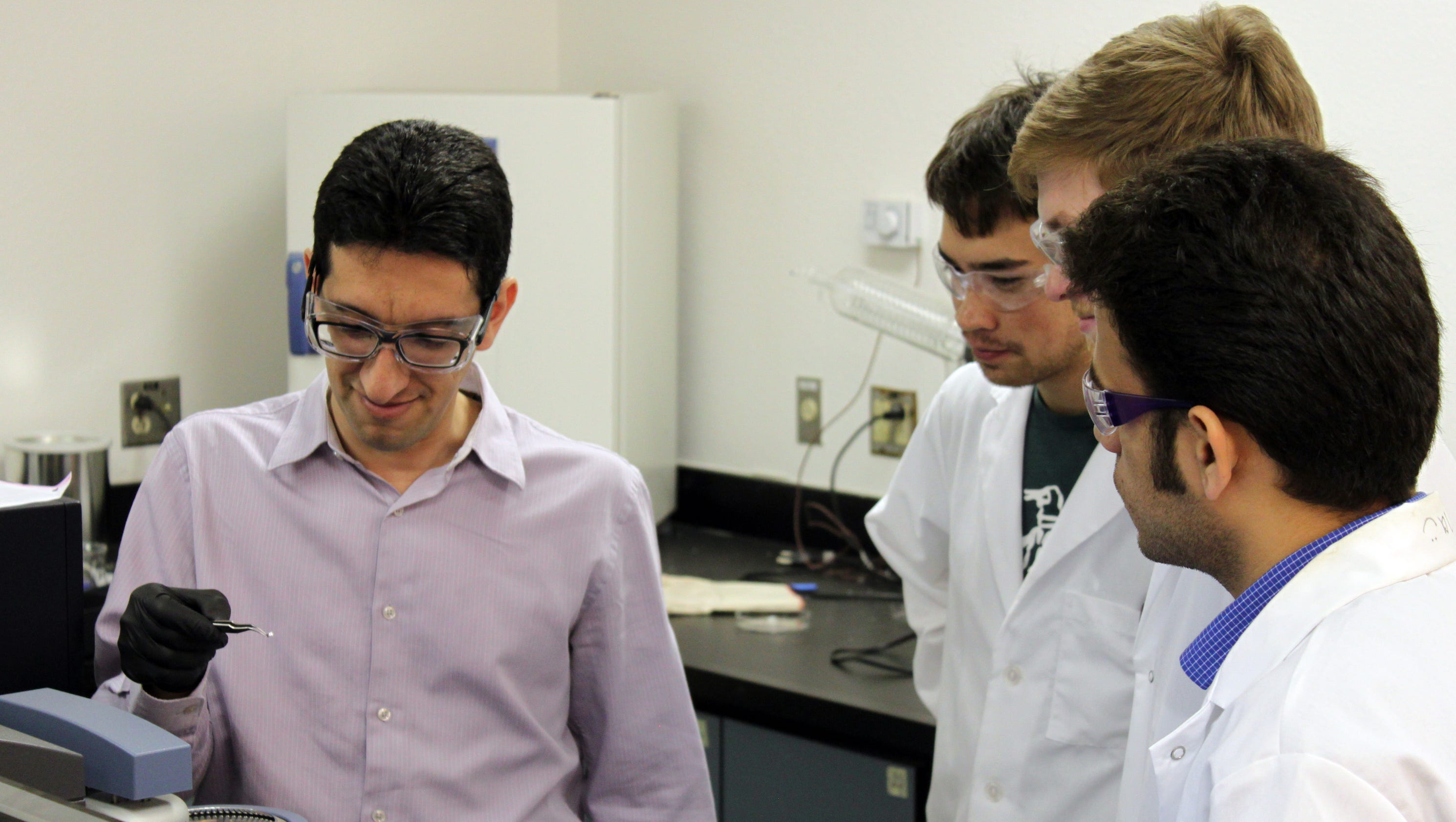 NMSU chemical engineer investigates more efficient, effective water treatment technology
