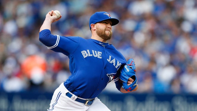 Drew Storen was designated for assignment by Toronto on Sunday.
