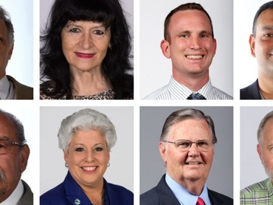 Eight candidates are seeking to become Corpus Christi's next mayor.