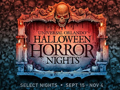 Celebrate Halloween at Universal Orlando through Nov. 4 with an exclusive member discount.