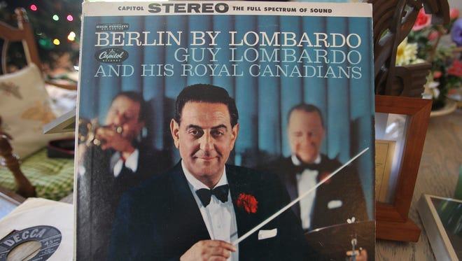 An album cover of Guy Lombardo and His Royal Canadians.