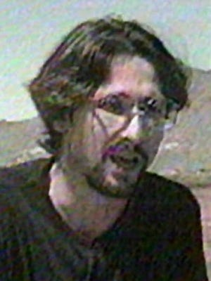 Michael Fortier of Kingman, Ariz., who pleaded guilty to lesser charges in the Oklahoma City bombing in exchange for testimony against Timothy McVeigh and Terry Nichols, in April, 1995.