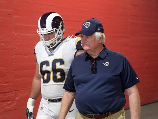 Williamsburg, Iowa native Austin Blythe took over a starting job for the Rams this year, and quickly emerged as one of the best interior linemen in the NFL.