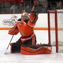 Chris Nell set Bowling Green State University single-season records for goals-against average (1.91) and save percentage (.930) during his sophomore season.