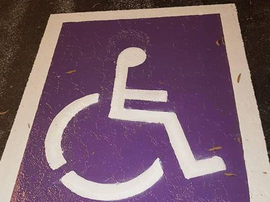 Humboldt City Hall has added a new handicapped parking space for veterans.