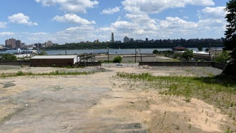 The 18.7-acre former Hess Corp. terminal at 615 River Road in Edgewater. FILE PHOTO.