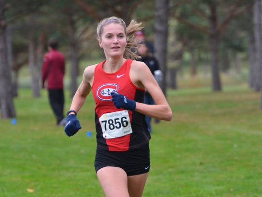Sam Sunstrom, a senior from Sauk Rapids, has been having a breakout season for the St. Cloud State women's cross country team. She and the Huskies will compete in the NSIC Championships on Saturday in Sioux Falls, South Dakota.