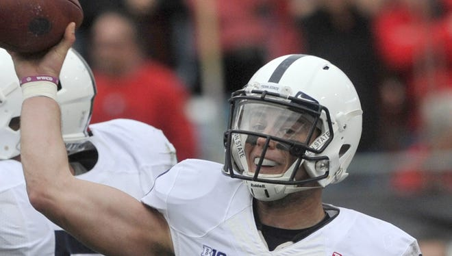 Trace McSorley impressed in the TaxSlayer Bow. But will he be able to hold off Tommy Stevens this spring at quarterback in Penn State's new offense?