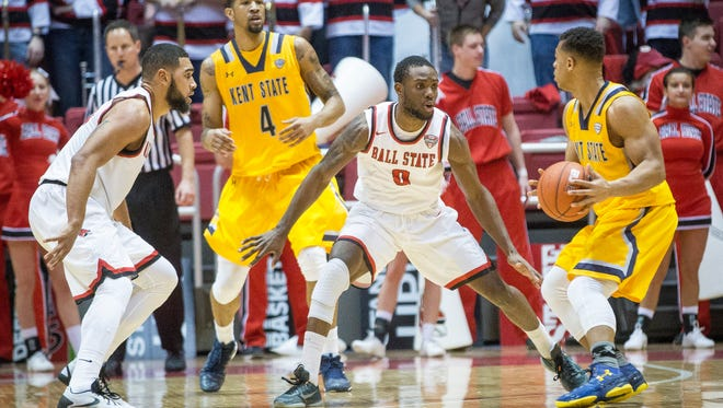 Ball State lost to Kent State in a 76-68 final score Tuesday night at Worthen Arena. Ball State is now 12-6 this season.