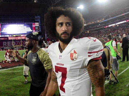 USP NFL: SAN FRANCISCO 49ERS AT ARIZONA CARDINALS S FBN USA AZ