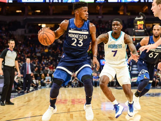 NBA: Charlotte Hornets at Minnesota Timberwolves
