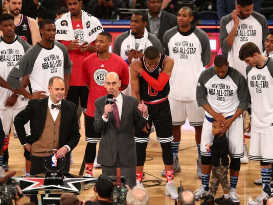 Adam Silver and All Stars